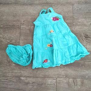 2/$15 Gymboree toddler girls summer d size 12-18 m